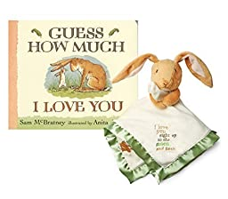 Maven Gifts: Kids Preferred Guess How Much I love You: Snuggle Blanky with Book