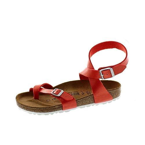 53a1f6719 Birkenstock Women's Yara Birko-Flor Flip Flops: Amazon.co.uk: Shoes ...