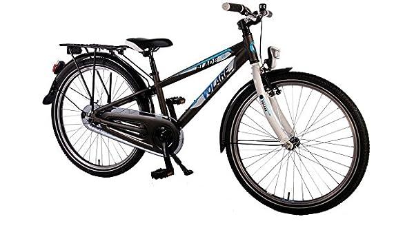 24 Pulgadas Volare Aluminio City Blade Bicicleta niño negro con ...