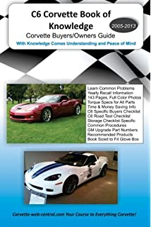 Corvette c6 launch book phil berg david hill 9780760318652 c6 corvette book of knowledge corvette buyers guide fandeluxe Images