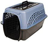 Petmate Two Door Top Load 24-Inch Pet Kennel, Metallic Pearl Ash Blue and Coffee Ground Bottom (Misc.)