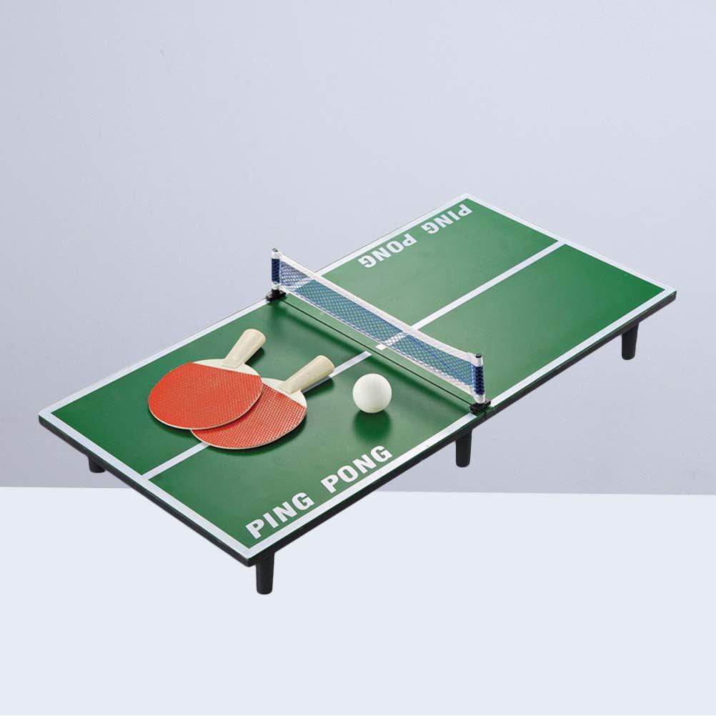 LIOOBO Mesa de Ping Pong Mesa de Ping Pong Juego de Pelota de béisbol Mini Juego de Mesa portátil para niños Educación temprana 1 Juego: Amazon.es: Juguetes y juegos