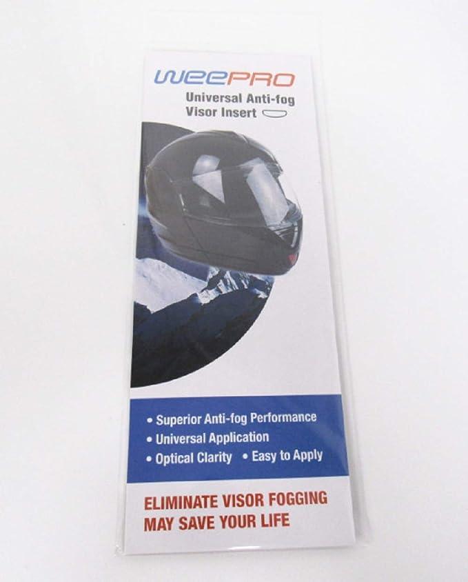 Visera antiniebla Insertar Para Moto Casco Visera - diseño Universal: Amazon.es: Deportes y aire libre