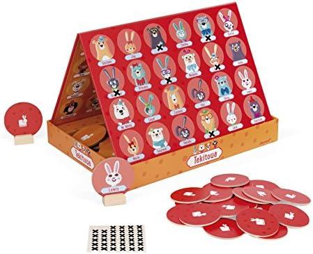Janod Juego de Estrategia Tekitoua, Multicolor (J02749): Amazon.es: Juguetes y juegos