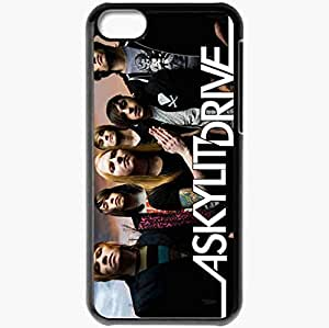 Personalized iPhone 5C Cell phone Case/Cover Skin A Skulit Drive Group Emo Rock Hair Clouds Black