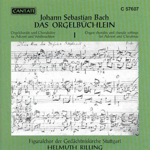 Price comparison product image Helmuth Rilling Das Orgelbüchlein vol.1 Other Choral Music