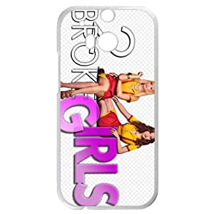 2 Broke Girls HTC One M8 White Christmas Gifts&Gift Attractive Phone Case KHUAA523119