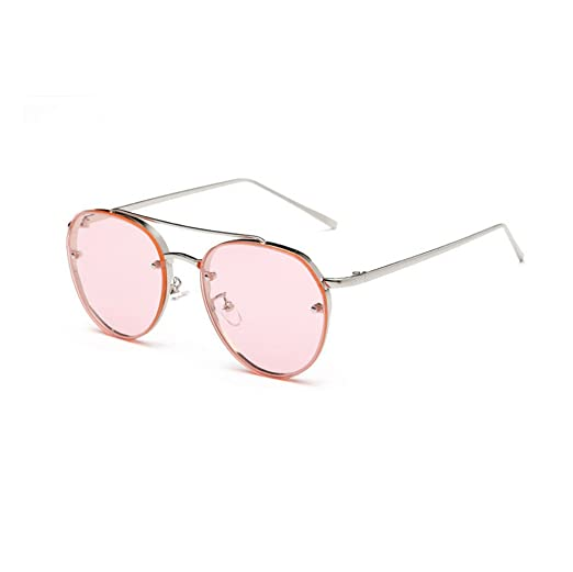 604d053a30891 JJLIKER Classic Vintage Aviator Mirrored Sunglasses Metal Frame Polarized  Protection Goggle Reflective Flat Lens Eyewear at Amazon Women s Clothing  store