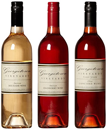 Georgetown Vineyards Holiday Wine Mixed Pack, 3 x 750 mL Wine