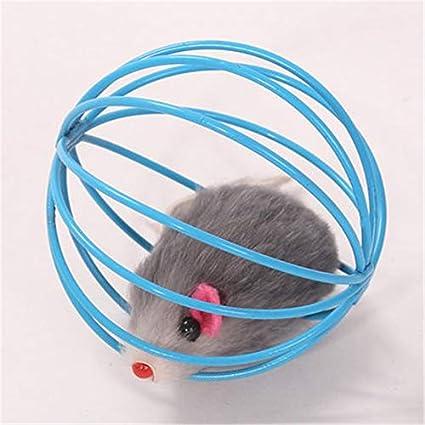 Amazon.com : HBK False Mouse Trap Cage Cats Toy Pet Interactive Products Kitten Play Pets Shop Game Gatos Fun Cats Toys False Mouse Cute DDMYXX8 : Pet ...