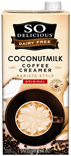 So Delicious Dairy Free Coconutmilk Creamer, Original, Barista Style, 32 oz (Pack of 6)
