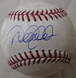 Derek Jeter signed GAME USED autographed Official Major League baseball - MLB and Steiner hologram authenticated