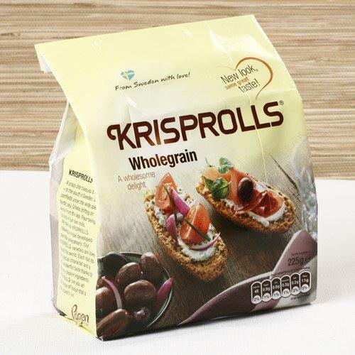 Swedish Wholegrain Krisprolls (7.9 ounce)