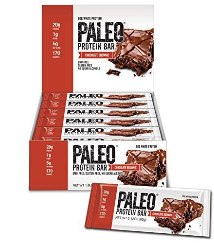 Julian Bakery New! Paleo Protein Bars, Brownie, 12 Count
