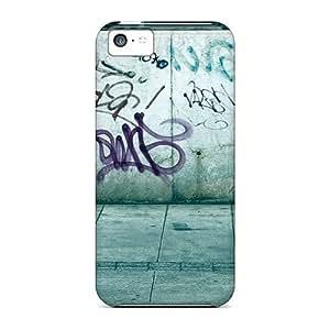 Hot Random Street Graffiti First Grade Tpu Phone Case For Iphone 5c Case Cover