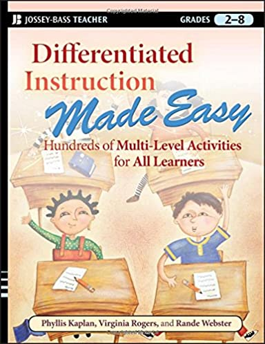 Differentiated Instruction Made Easy Various Owner Manual Guide
