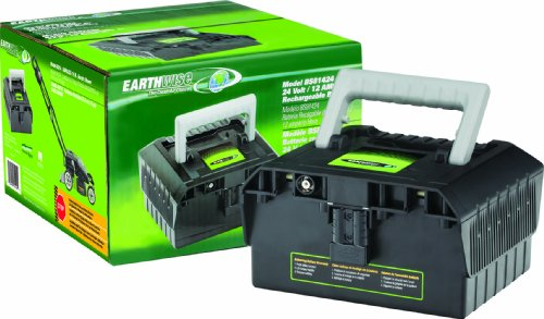 Earthwise BS81424 Replacement 24-Volt 12-Amp Battery for Model 60214 Lawn Mower