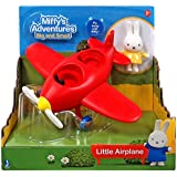Miffys Adventures Red Plane Toy Playset