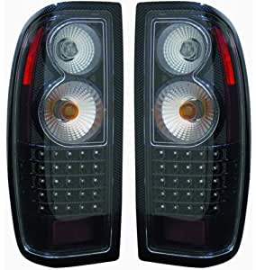 Amazon.com: 1998-2004 Nissan Frontier Tail Lights (LED