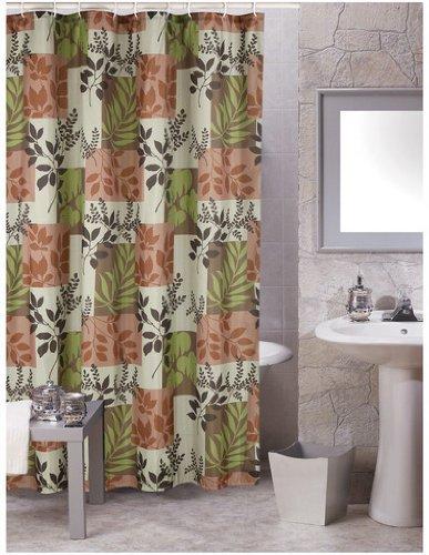 Amazon Carnation Shower Curtain Fabric Laura Brown