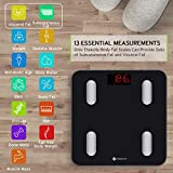Etekcity Smart Bluetooth Body Fat Scale - FDA Approved - Digital Wireless Weight Bathroom Scale, 13 Essentials Body Composition Analyzer with App, Larger Platform, Weight, BMI, Body Fat% and More