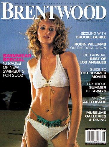 Brentwood Magazine Swimsuit Issue - Brooke Burke - July 2002