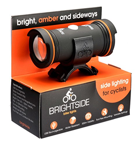 Side Lights for Cyclists. Bright Be Seen Lights, Amber and Dual Side Lights.  Five Day Worldwide Shipping.