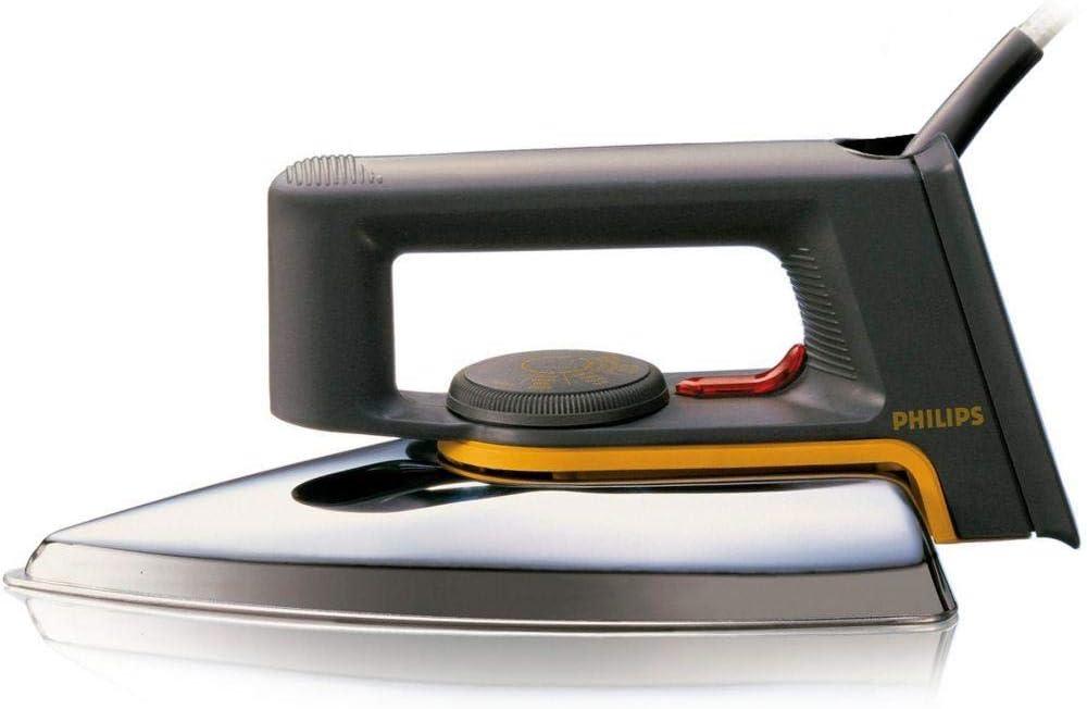 مكواة تجفيف بتصميم كلاسيكي بقاعدة مصقولة 1000 واط من فيليبس HD1172 ، متعددة الالوان