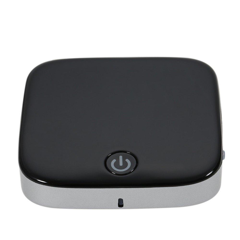 BT 4.1送信機と受信機3.5 MM Auxワイヤレスオーディオアダプタデジタル光学式ToslinkとSPDIF APTX low latency for TVホーム/車オーディオステレオ音楽ストリーミングサウンドシステム B076KQJVYT