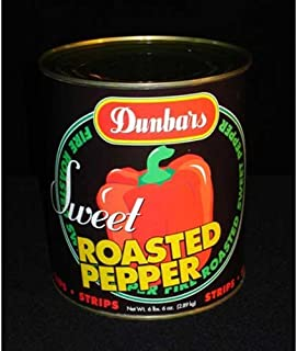 product image for Dunbar Roasted Red Pepper Strips, 102 Ounce -- 6 per case.