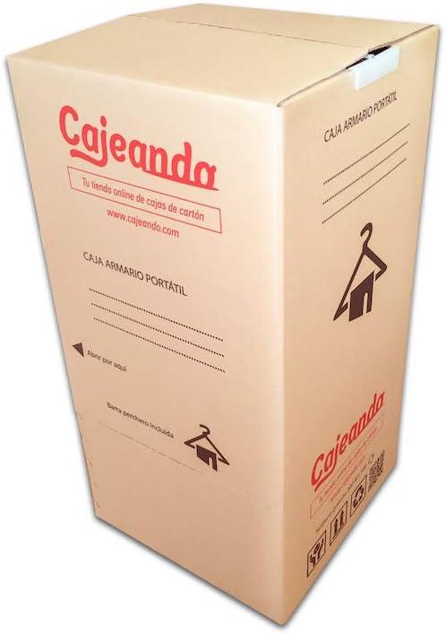 Cajeando | Ocho (8x) Cajas Armario de Cartón | Tamaño 50 x 50 x ...