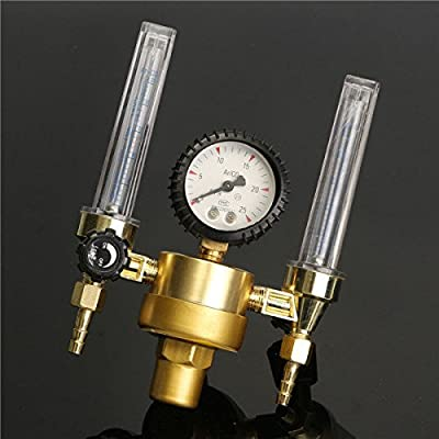 dipshop Argon CO2 Pressure Reducer Mig Tig Flow Meter Control Valve Regulator Welding We