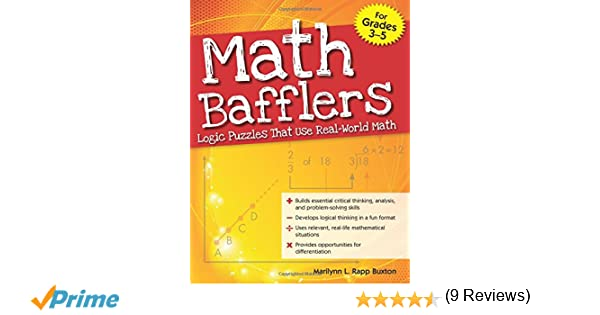 Amazon.com: Math Bafflers, Book 1: Logic Puzzles That Use Real ...