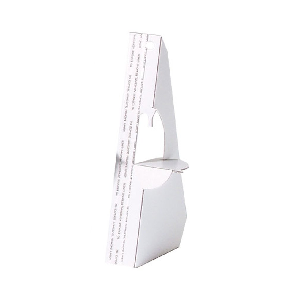 Lineco Self-Stick Easel Back, 3 inches, White, Package of 5 (328-3003)
