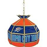 NBA Oklahoma City Thunder Tiffany Gameroom Lamp, 16''