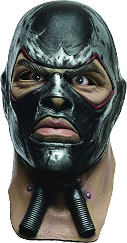 Rubie's Men's Arkham City Adult Deluxe Overhead Latex Bane Mask, Multi, One Size ()