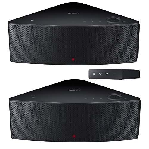Samsung SHAPE Wireless Audio M5 Speakers with Wireless Audio Multi-Room Hub, F-WAM570P by Samsung