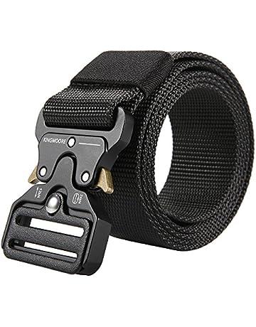 58dfe8e5a17 Men's Tactical Belt Heavy Duty Webbing Belt Adjustable Military Style Nylon  Belts
