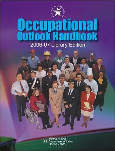 Book Occupational Outlook Handbook 2006-2007