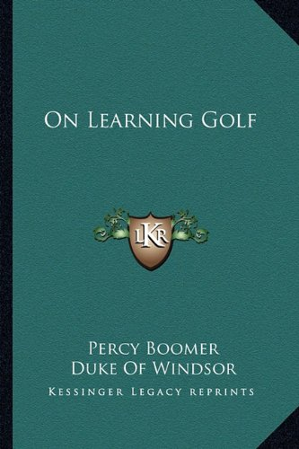 Download On Learning Golf pdf