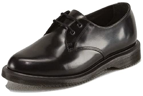 Womens Dr Martens Brook, Casual / Fashion / Classic, 2 Eylet, Polished  Smooth Oxford Style Leather Shoes with Air-Cushioned Sole: Amazon.co.uk:  Shoes & Bags