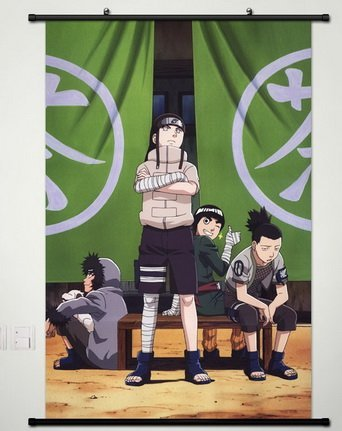 Naruto Wall Scroll Poster Fabric Painting For Anime Hyuuga N