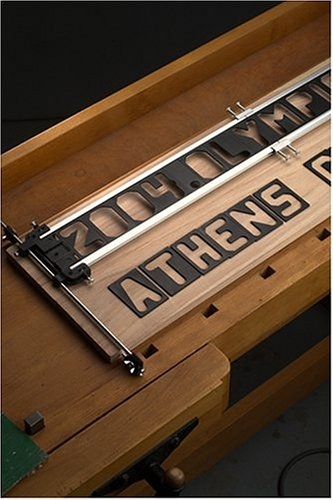 Milescraft 1206 signcrafter signmaking template nielsen for Wood sign making templates