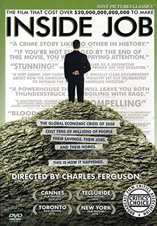 Amazon com: Inside Job: Matt Damon, Charles Ferguson: Movies