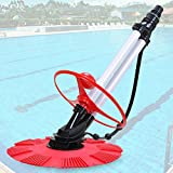 New Deluxe Inground Above Ground Automatic Swimming Pool Cleaner Vacuum 10x Hose
