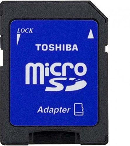 Toshiba SD-C032UHS1(BL5A - Tarjeta de Memoria Micro SD de 32 GB (Adaptador Clase 10 UHS-I)