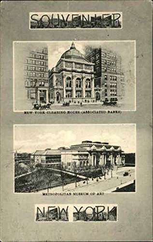 New York Clearing House Associated Banks New York Original Vintage Postcard