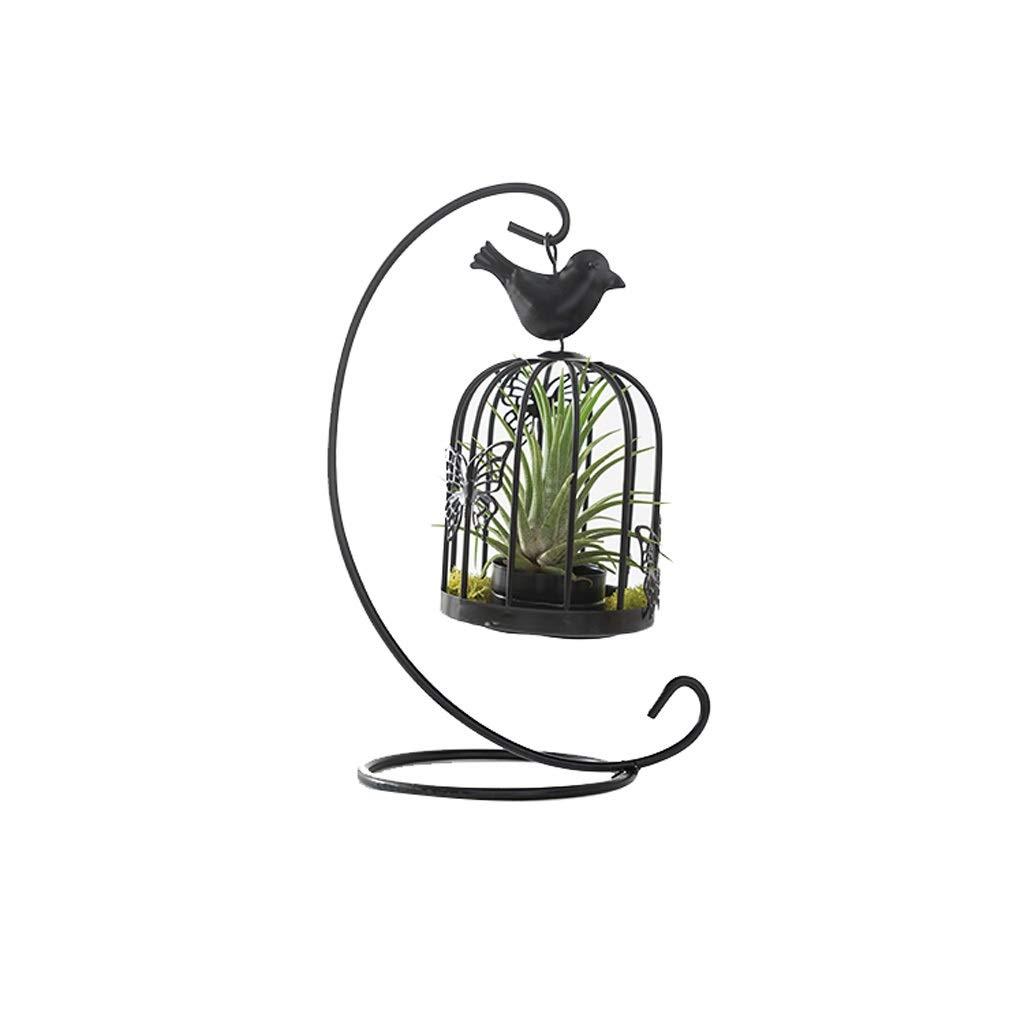 YF Flower stand YANFEI - Jaula de Hierro para pájaros y piñas ...