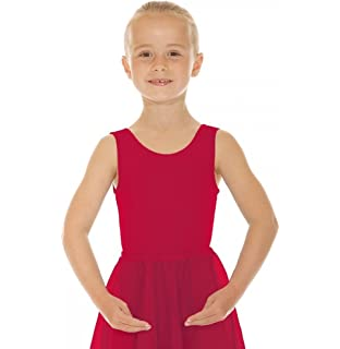 Vari Roch Valley CJune Cotton//Lycra Ballet Exam Leotards with Elasticated Belt.