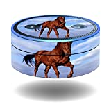 MightySkins Protective Vinyl Skin Decal for Amazon Echo Dot (1st Generation) wrap cover sticker skins Horse